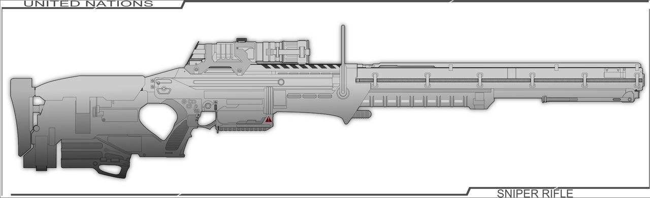 Rail Gun Sniper wip by Jon-Michael-May