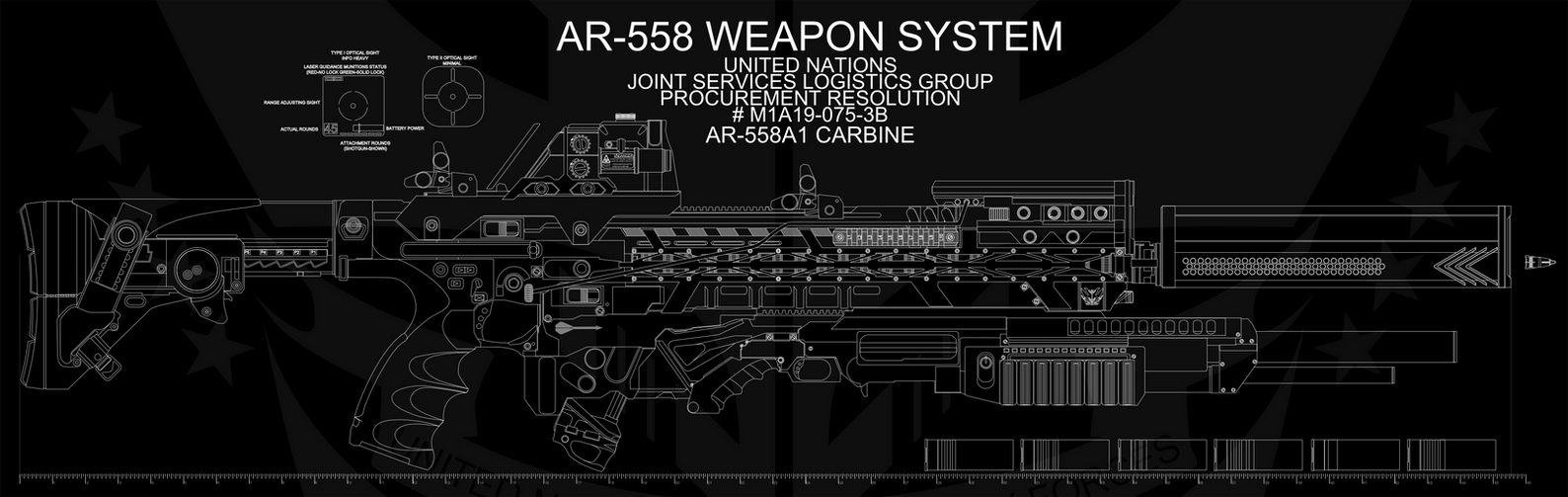 AR-558 Assault Rifle - new by Jon-Michael-May