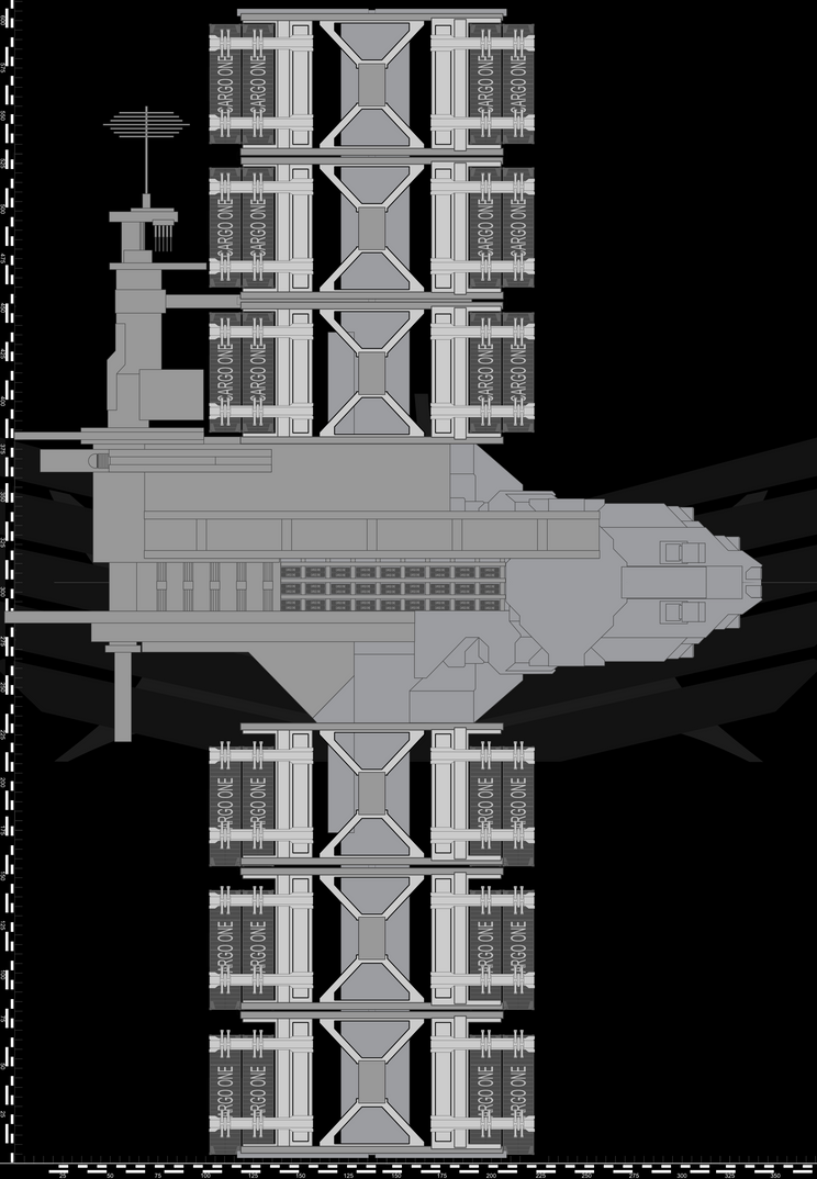 Alliance Cargo Ship WIP 1 by Jon-Michael-May