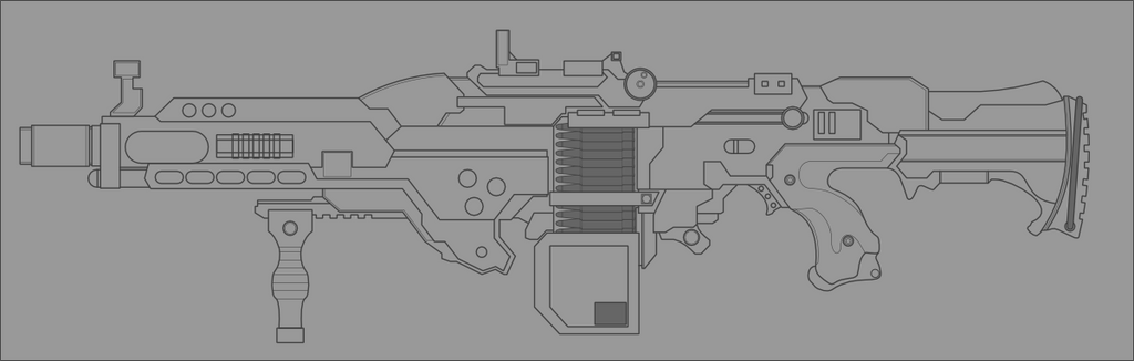 New Rifle concept WIP by Jon-Michael-May
