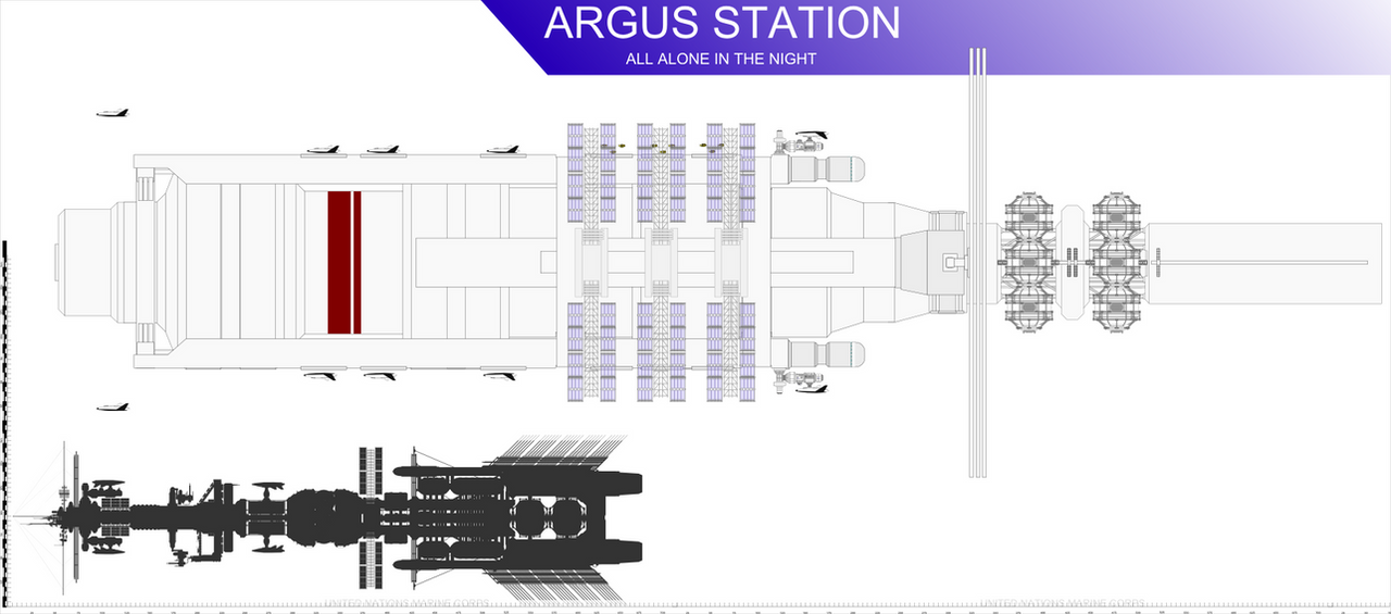 Argus Station WIP by Jon-Michael-May