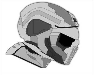 Combat Helmet WIP by Jon-Michael-May