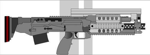 AK Rail Gun wip by Jon-Michael-May