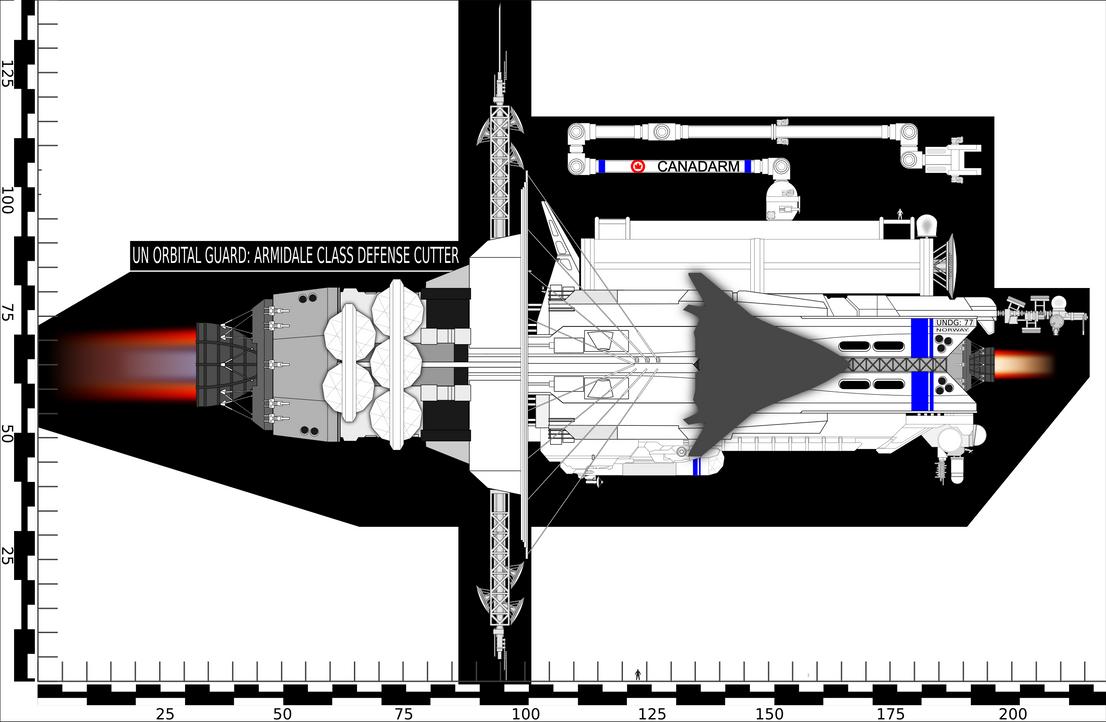 Armidale Patrol Cutter: Orbital Defense Guade by Jon-Michael-May