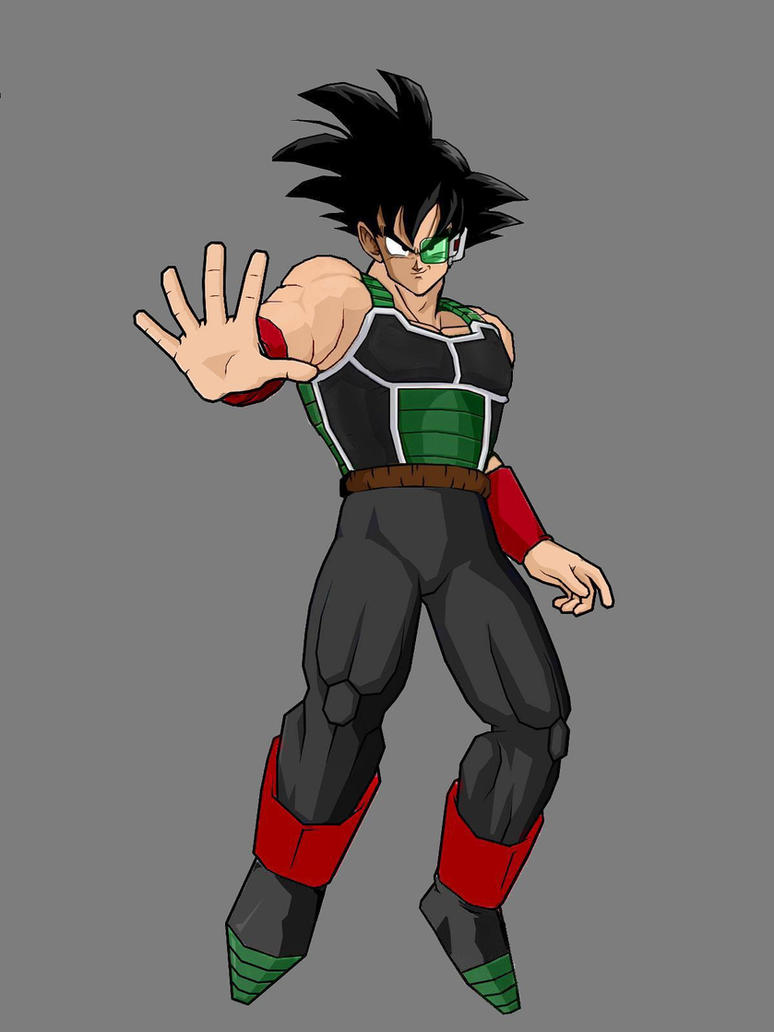 Bardock By KingCrackRock by kingcrackrock on DeviantArt