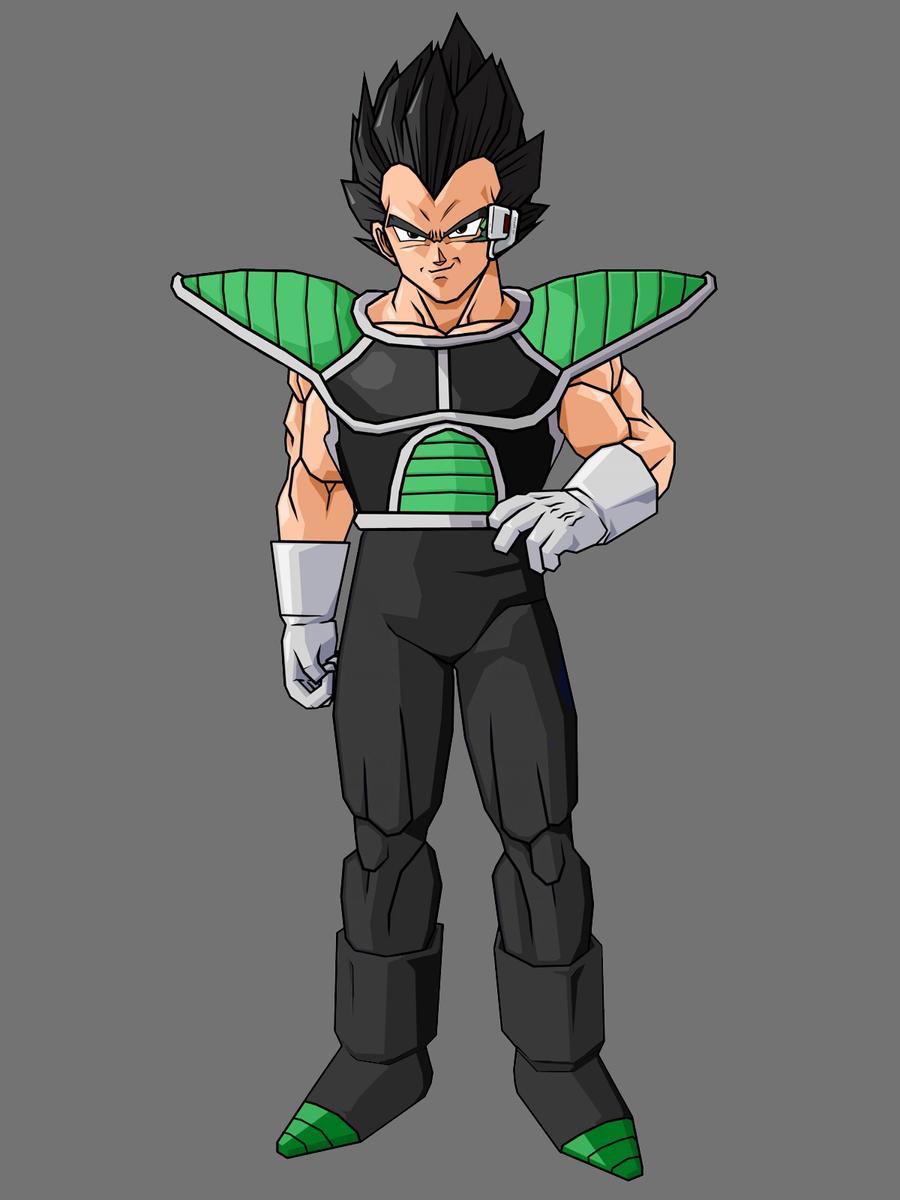 King Vegeta And Bardock Fusion Vegeta scouter updated inKing Vegeta And Bardock Fusion