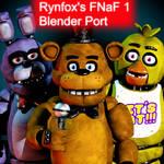 Rynfox's Fnaf 1's Blender Port Download -Update2-