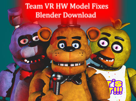 Team VR HW Model Fixes Blender Port Download