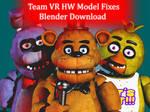 Team VR HW Model Fixes Blender Port Download