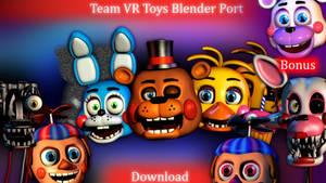 Team VR HW Toys Model Fixes Blender Port Download