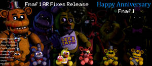 Fnaf 1 AR Edits Release C4D + Blender + SFM