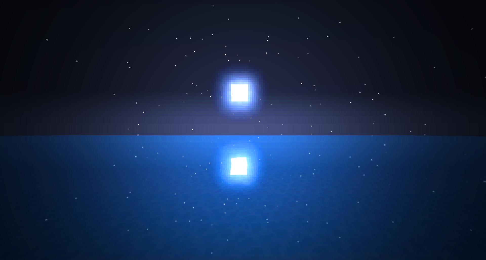 Minecraft Moon Wallpaper by squishypon