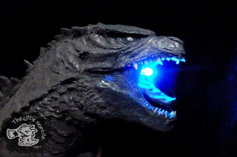 Godzilla 2014 Atomic Breath by TheLittleReptile on DeviantArt