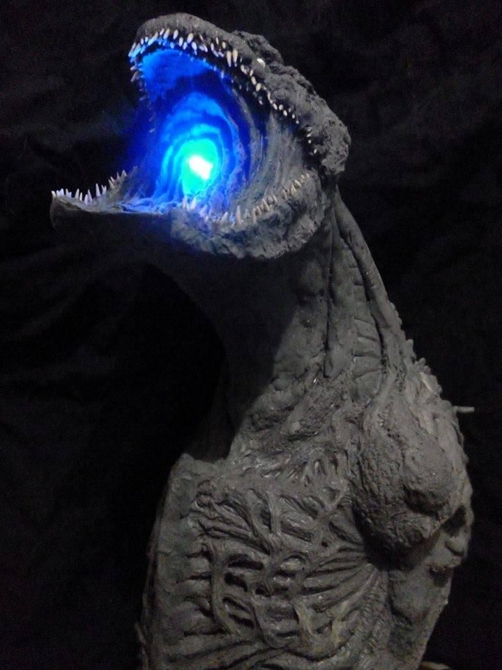 Shin Godzilla Statue Atomic Breath by TheLittleReptile on ...