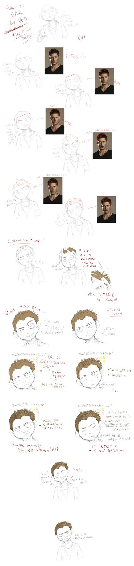 How To Hair by Choco-Doodle