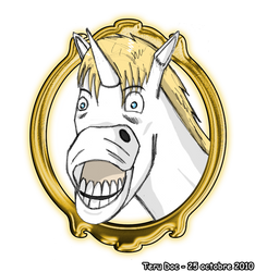 Funny Unicorn by TeruDoc