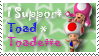 Toad x Toadette Stamp by GamingGirl73