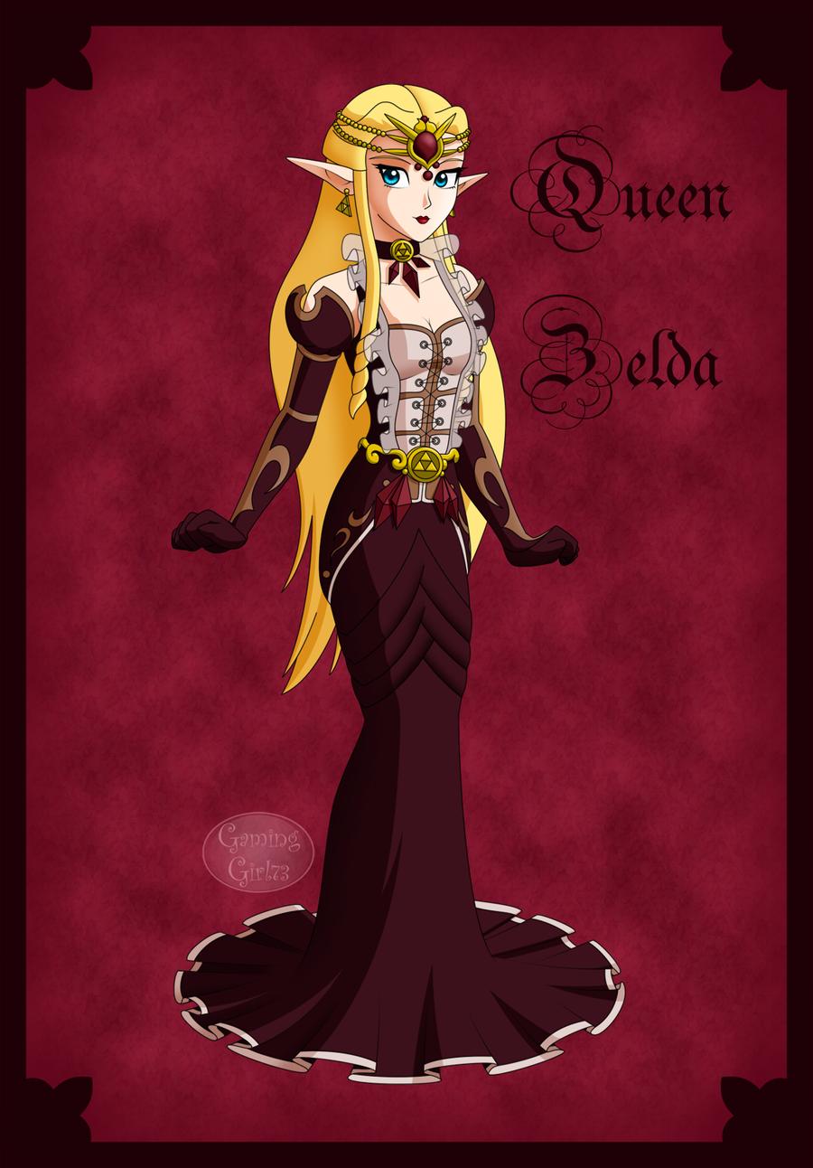 Queen Zelda by GamingGirl73