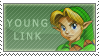 Young Link Stamp