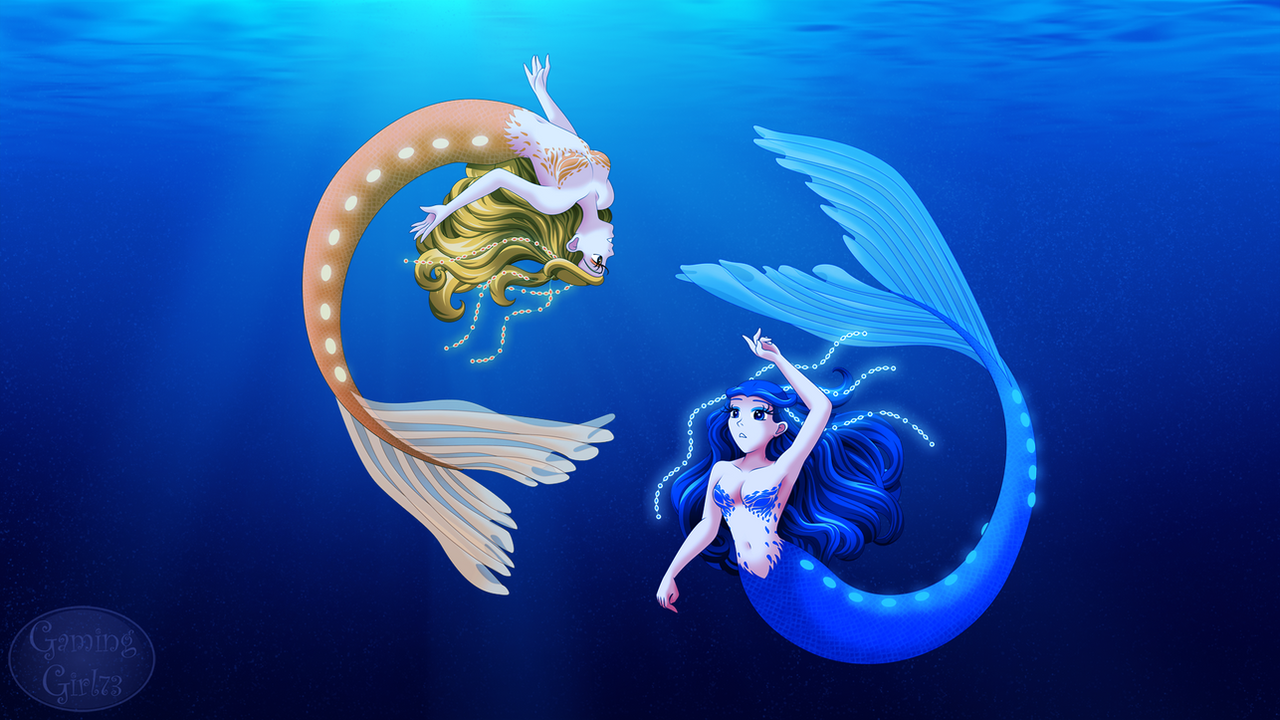Underwater Mermaids by GamingGirl73 on DeviantArt
