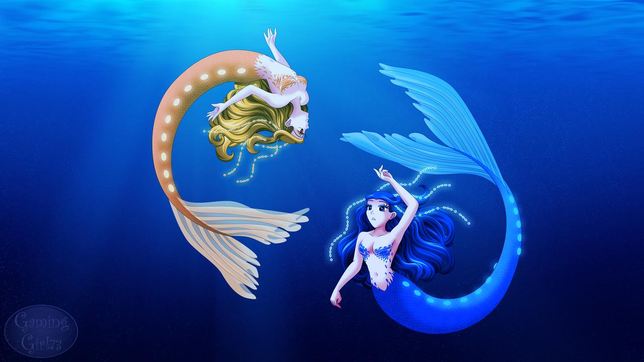 Underwater Mermaids by GamingGirl73 on DeviantArt