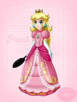 Brawl Peach by GamingGirl73