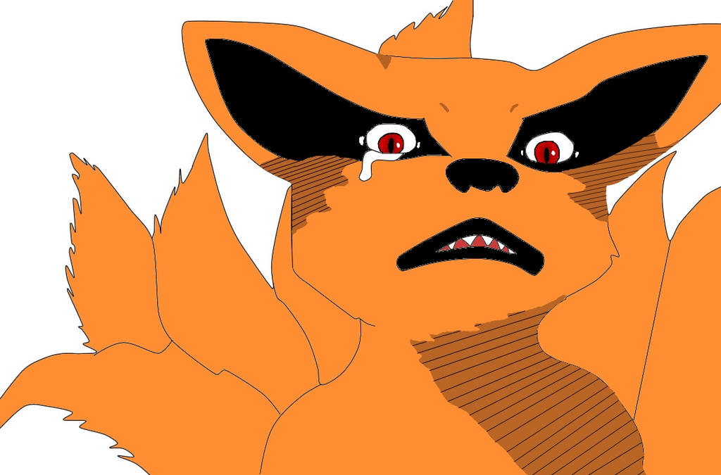 Baby Kurama color version. by MLGoldiii - 81.2KB