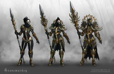 Gravewarden - Armor Design