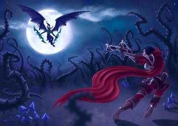 Demon Hunter vs Demon Hunter by Silartworks