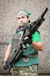 Colonial Marine: Heavy Gunner Hidalgo