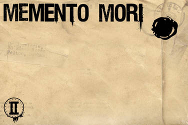 Memento mori envelope by sergiokomic