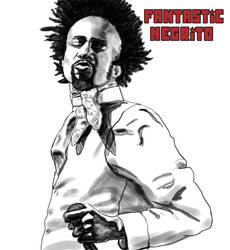 Fantastic Negrito sketch by paintgirl