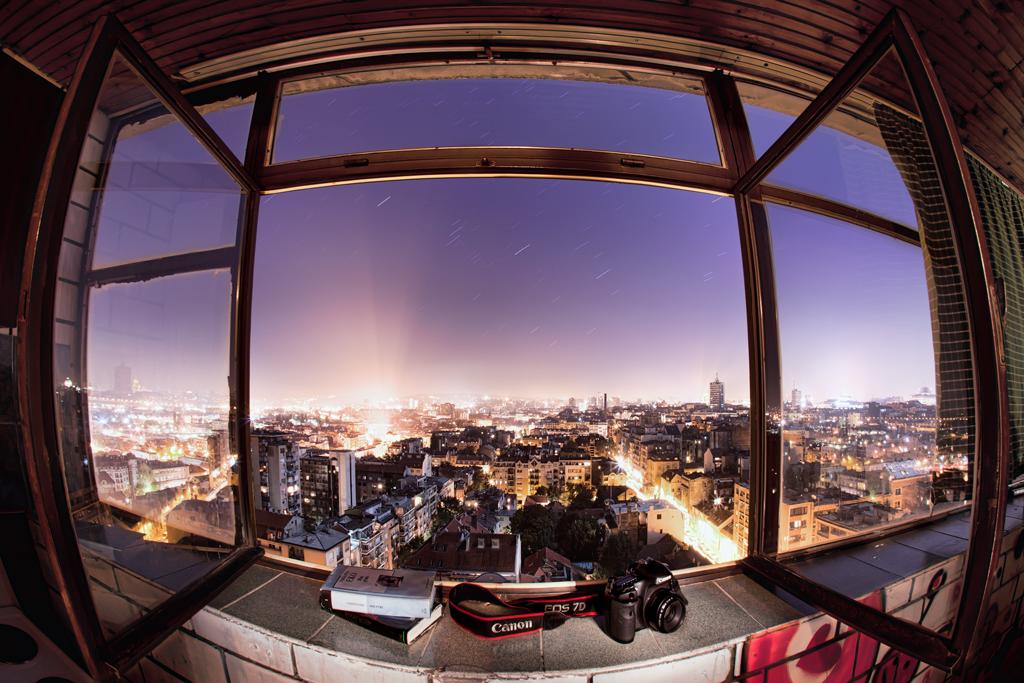 Belgrade window by BorisMrdja