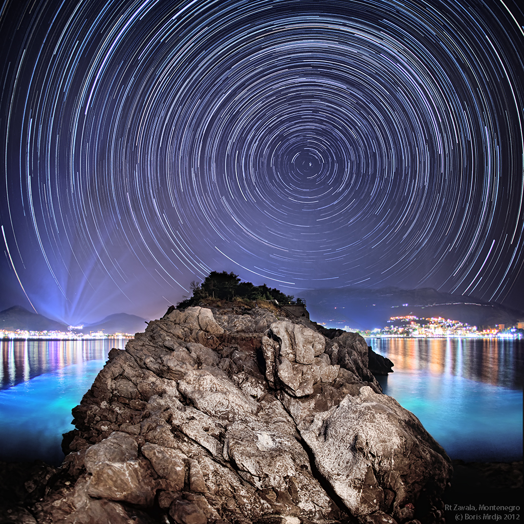 Montenegro startrail by BorisMrdja