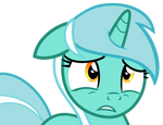 Sad Lyra Heartstrings Vector (HD)