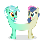 LyraBon vector (HD) by IvaCatheriaNoid