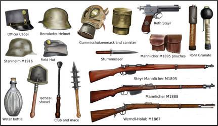 ww1 Austro-Hungarian equipment