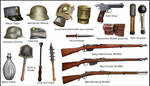 ww1 Austro-Hungarian equipment