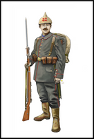 WW1 Infantriest - 32nd regiment , 2nd Thuringen by AndreaSilva60
