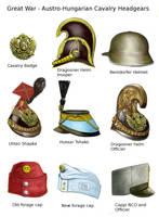 ww1 Austro-hungarian cavalry headgear by AndreaSilva60