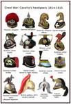ww1 - Cavalry's headgears - 1914-1915