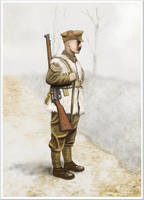 WW1 - western front - winter 1914-1915 British sgt by AndreaSilva60