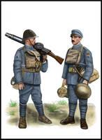 WW1 - Flanders, 1918 - Portuguese Lewis gun crew by AndreaSilva60