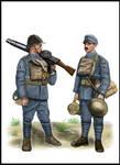 WW1 - Flanders, 1918 - Portuguese Lewis gun crew
