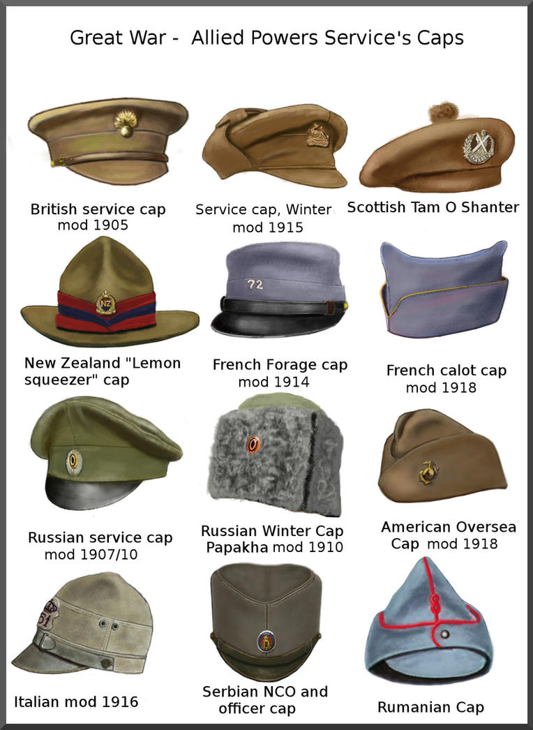 ww1___allied_power_service_s_caps_by_and