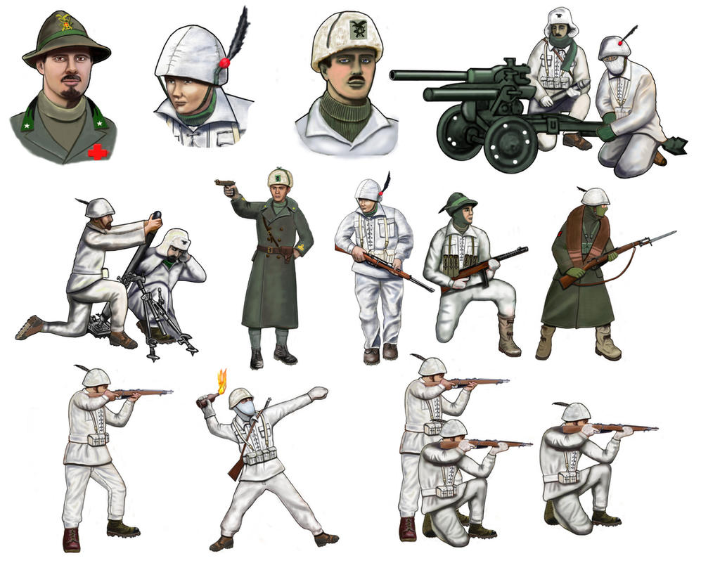 Ww2 don front italian alpini by andreasilva60 on deviantart ww2 don front italian alpini by andreasilva60 sciox Images