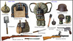 WW1 german equipments