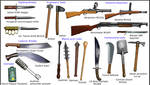 WW1 melee weapons