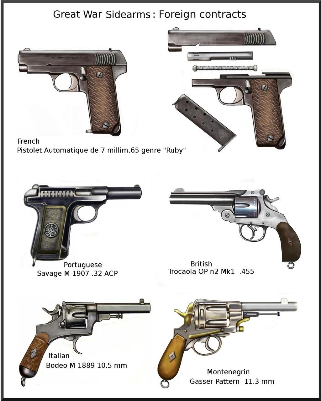 ww1 sidearm by AndreaSilva60 on DeviantArt