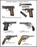 ww1 sidearm